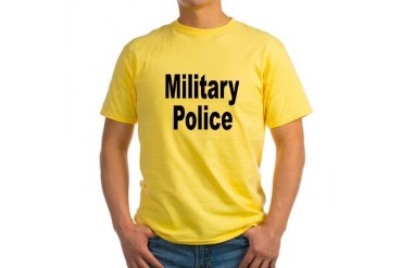 Military Police Military Yellow T-Shirt by CafePress