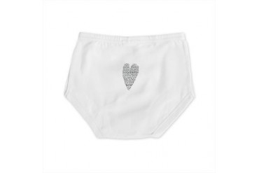Black and white Diaper Cover by CafePress