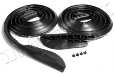 1966-1967 Dodge Coronet Weatherstrip Seal Metro Moulded Dodge Weatherstrip Seal LM 23-B 66 67