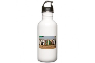 Sudanese People Title Nature Stainless Water Bottle 1.0L by CafePress