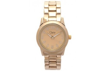 Gold Analog Watch