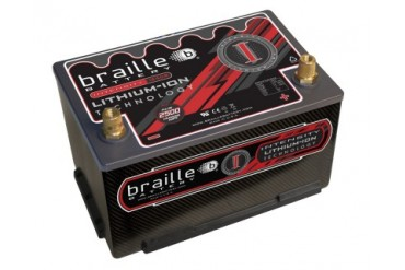 Braille Lithium Ion Intensity Carbon Starting Battery 2500 Amp 10 x 6 x 7 inch Left Positive