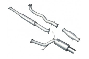 Milltek Turbo-Back Exhaust with High Flow Cat Mitsubishi Evolution IX 06-07