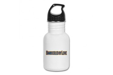Bamboozled by Love Love Kid's Water Bottle by CafePress