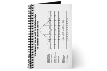 Normal Curve School Journal by CafePress