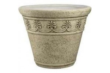 6 Pack Mintcraft Pt-010 13In Round Planter Moss Green