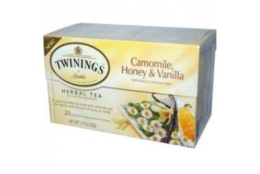Twinings Of London Pure Camomile Honey amp Vanilla Herbal Tea