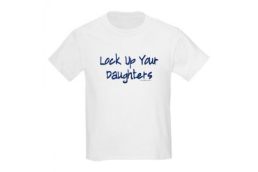 "Lock Up Your Daughters"" Kids T-Shirt"