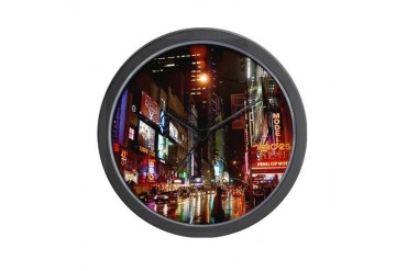 New york Wall Clock by CafePress