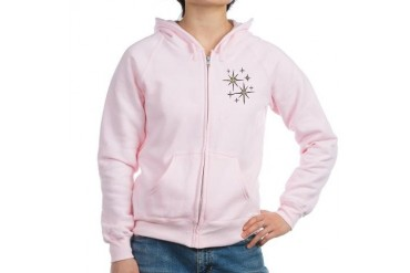 MOJAMA's Sports Women's Zip Hoodie by CafePress