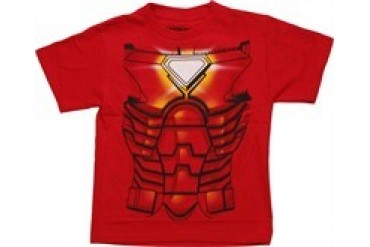 Marvel Comics Iron Man Costume Juvenile T-Shirt