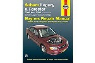 2000-2009 Subaru Legacy Manual Haynes Subaru Manual 89101