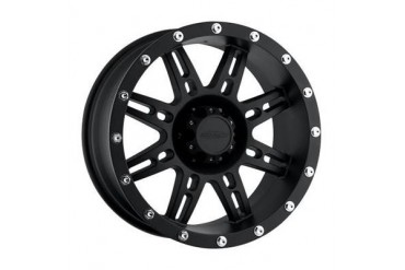Pro Comp Alloy Wheels Series 7031, 15x8 with 5 on 4.5 Bolt Pattern - Flat Black 7031-5865 Pro Comp Xtreme Alloy Wheels