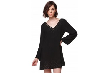 Womens Lush - Lush Bell Sleeve Shift Dress