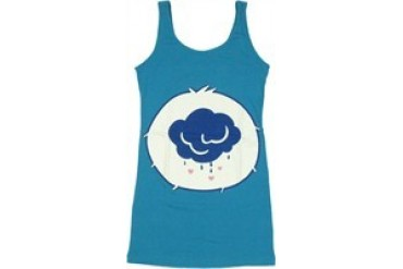Care Bears Grumpy Bear Costume Snug Fit Tank Top Dress