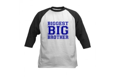 Biggest Big Brother Kids Baseball Jersey