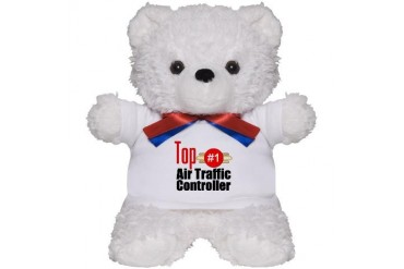 Top Air Traffic Controller Occupations Teddy Bear by CafePress