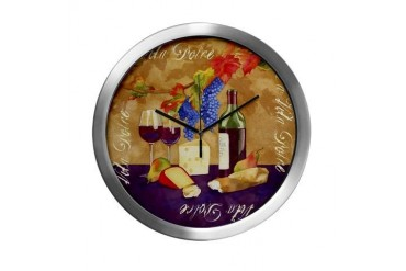 Best Seller Grape Italian Modern Wall Clock by CafePress