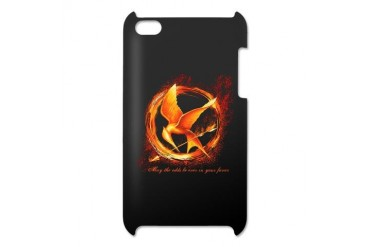Flaming Mockingjay iPod Touch 4 Case