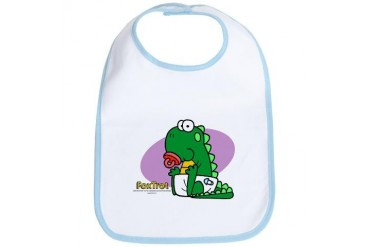 Baby Quincy Baby Bib by CafePress