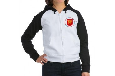 Kielce Polish Women's Raglan Hoodie by CafePress