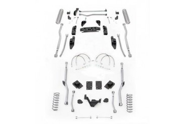 Rubicon Express 4.5 Inch Extreme Duty 4-Link Front/Rear Radius Long Arm Lift Kit JK4R24 Complete Suspension Systems and Lift Kits