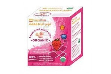 Organic Yogurt Snacks Kids Mixed FruitsMixed Fruits 5/0.3 oz(case of 6)