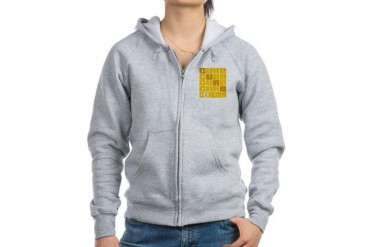 CURE Neuroblastoma Collage Cancer Women's Zip Hoodie by CafePress
