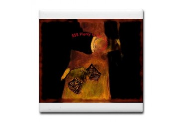 Need Artwork Tile Coaster by CafePress