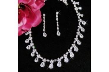 Elegance By Carbonneau Necklace & Earring Set - Style N2404&E2167