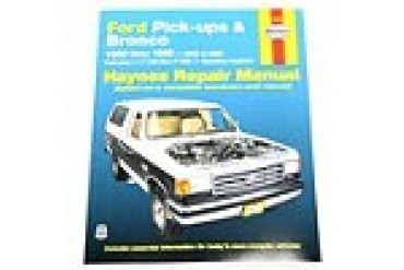 1980-1996 Ford Bronco Manual Haynes Ford Manual 36058