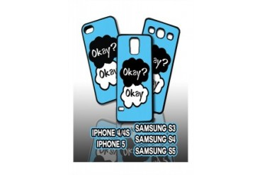 Okay? Okay Fault In Our Stars Cell Phone Cases for Iphone and Samsung