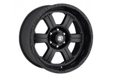 Pro Comp Alloy Wheels Series 7089, 16x8 with 5 on 5 Bolt Pattern - Flat Black 7089-6873 Pro Comp Xtreme Alloy Wheels
