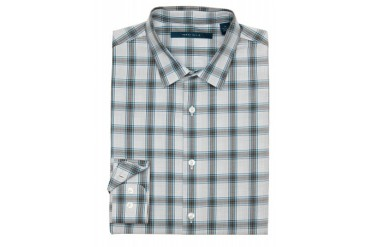 Perry Ellis Background Plaid Shirt