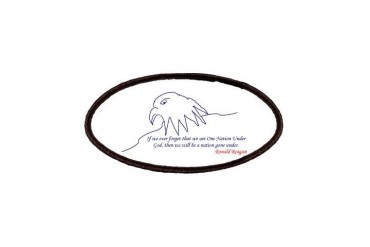 Eagle Eagle Patches by CafePress