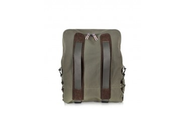Roland Khaki Fabric Backpack