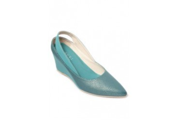 Blue/Green Closed Wedges