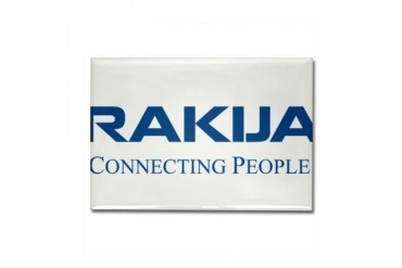 Rakija Connecting People People Rectangle Magnet by CafePress