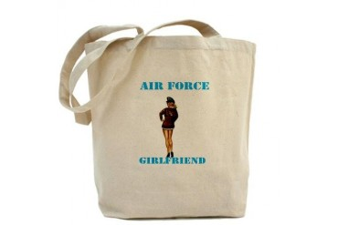 AIR FORCE GIRLFRIEND Military Tote Bag by CafePress