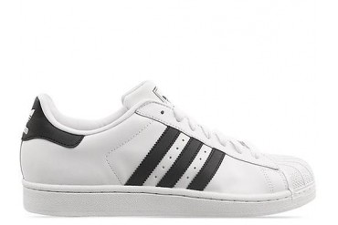 Adidas Originals Superstar 2 in White Black White size 9.0