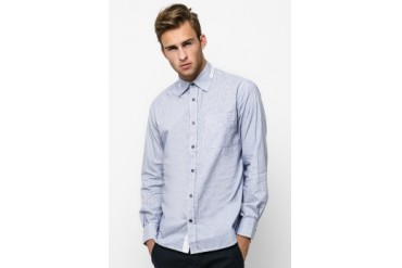 Intresse Casual Long Sleeve Cotton Stripes Comb Print