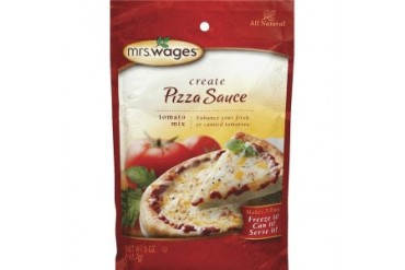 12 Pack Mrs. Wages W539-J4425 Mrs. Wages Pizza Sauce Tomato Mix