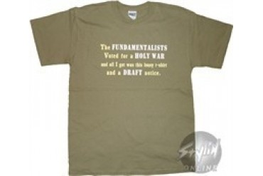 A Perfect Circle Holy War Lousy Shirt T-Shirt