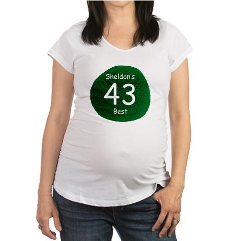 a1a80c6e70 Sheldon's Personal Best Geek Maternity T-Shirt by CafePress - Price ...