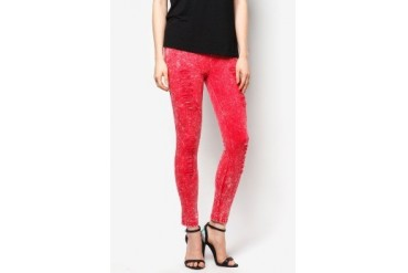 CLUB ZEN Vintage Ripped Jeggings