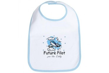 Future pilot like Daddy Baby Bib