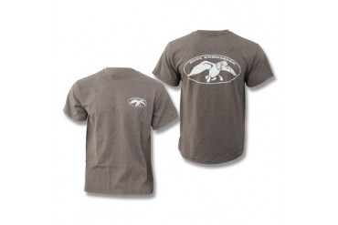 Duck Commander T-Shirt - Heather Brown - XL