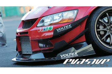 Voltex Twin Canards Wet Carbon Cyber Edition Mitsubishi Lancer Evolution VII 01-02
