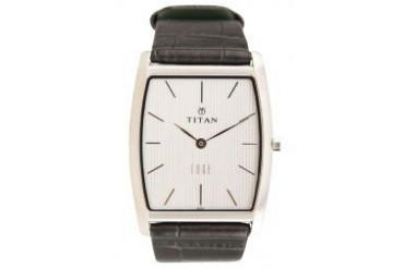 Titan Edge Collection Leather Watch 1044SL01R Black