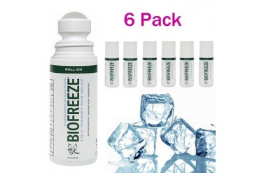Biofreeze Biofreeze Pain Relief Gel 3oz Roll-on 6PK Cold Therapy Reliever